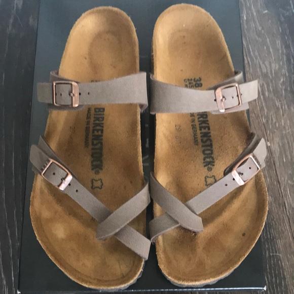 74139f7ad9da Birkenstock Shoes - Birkenstock Mayari Sandals in Mocha Birkibuc